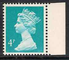 GB 1985 sg X864Ea 4p Greenish Blue left band Times booklet stamp MNH