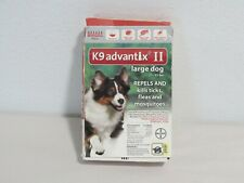K9 Advantix Ii Large Dog 21-55 Lbs Tick Flea + Mosquito 6 Pack