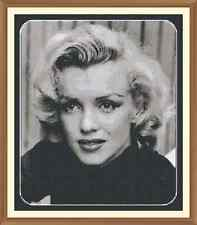Marilyn Monroe CROSS STITCH CHART 12.0 x 10.3Inches