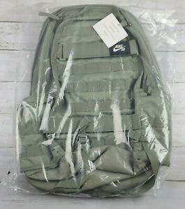 NIKE SB RPM Solid Backpack Light Army Black BA5403 320 - New