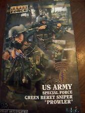 "1/6 ELITE FORCE green beret sniper PROWLER G3 body mib sealed 12"""