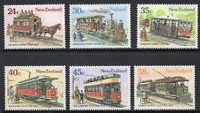 New Zealand MNH 1985 Vintage Trams