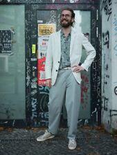 JOOP ! JEANS Sakko Jacket blau weiß gestreift 90er TRUE VINTAGE 90s Freizeit