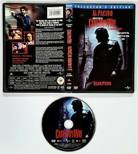 DVD Collector's Edition CARLITO'S WAY englisch OVP Al Pacino/Sean Penn/De Palma