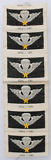 Wartime Strip of ARVN Airborne Wings / Insignia