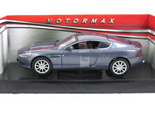 MotorMax Aston Martin DB9 Coupe Blue 1/24 Diecast