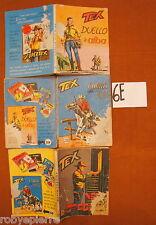 Lotto n 3 TEX GIGANTE Araldo Bonelli 57 e 58 L 200 59 L 350 fumetti robyepierre