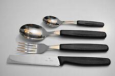Victorinox  Brötchenmesser Tomatenmesser Tafelbesteck 4 tlg.Schwarz