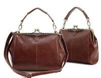 Retro Vintage Lady Leather Shoulder Handbag Satchel Tote Bag Purse New Hot