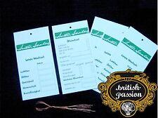 Austin Healey Sprite bn1-bj8 ölservice etichette