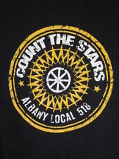 Nos COUNT THE STARS 2 Sided ALBANY LOCAL 518 T Shirt American Folk Pop Band M