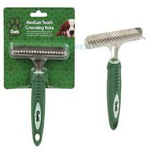 Crufts Undercoat Pin Rake For Dogs Premium Soft Grip Pet Dog Brush Comb Grooming
