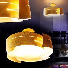 Plafonnier Lampe de séjour Lustre Design Lampe de corridor Luminaire doré 133942