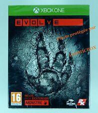 EVOLVE avec pack d'extension MONSTRE jeu pour console XBOX ONE en Français NEUF