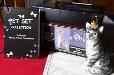 Joy To The World Pet Set Collection Morris Foundation American Shorthair Grey!