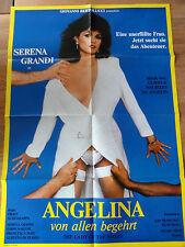 Erotik Kinoplakat ** ANGELINA - VON ALLEN BEGEHRT Serena Grandi