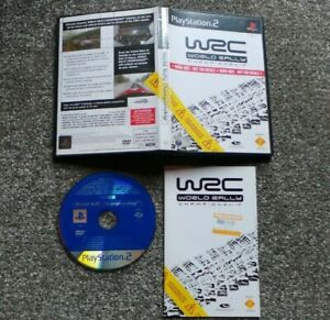 WRC WORLD RALLY CHAMPIONSHIP DEMO DISC PS2 PAL COMPLETE WITH MANUAL