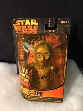 Star Wars C-3Po Lights & Sound Figure-Super Deformed-Need Battery-New Sealed2005
