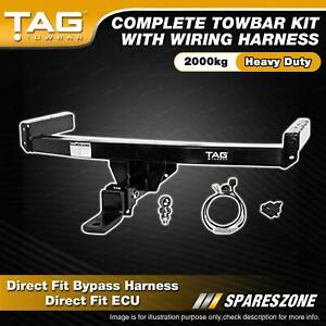 TAG HD Towbar Kit for Mitsubishi Outlander 11/2012-on Bypass Harness 2000kg