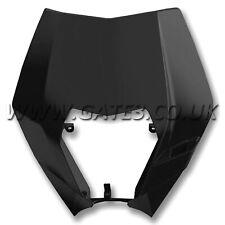 KTM 125EXC EXC 125 2008-2013 Polisport Black Plastic Headlight Mask Surround