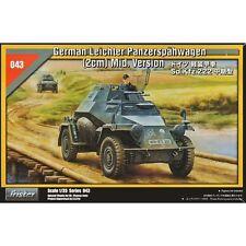 Tristar 35043 Leicht Panzerspaehwagen 2cm SdKfz 222 Middle Version 1/35 scale