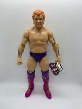 WWE Custom Mattel Elite Harley Race King Wrestling Figure Flashback Playable