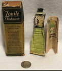 Vintage Zonite Ointment Tube With Box And Paperwork Zonite Products Corp. Rare