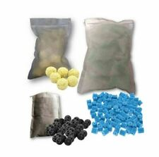 Biological Sponge Fish Tank Filter Aquarium Bio Ceramic Balls Media Mesh Bag