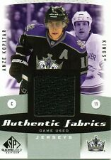 Anze Kopitar 10/11 SP Game Used Authentic Fabrics #AF-AK