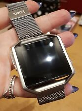 Fitbit Blaze Smart Watch With Heart Monitor with magnetic strap & rubber strap