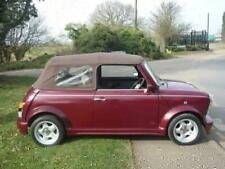 1991 / 1992 Rover MINI LAMM CONVERTIBLE LE Burgundy J Low Mileage Classic Cars