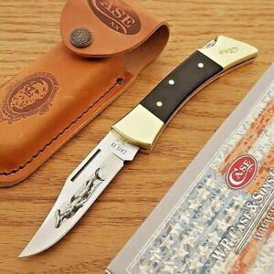"Case XX Hammerhead Lockback Folding Knife 3.58"" Stainless Blade Black Synthetic"