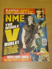 NME 1999 AUG 28 V FESTIVAL SUEDE STEREOPHONICS ELASTICA