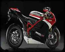 Ducati 1198S Corse Se 10 3 A4 Metal Sign Motorbike Vintage Aged