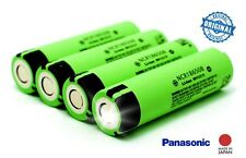 4PCS Genuine Panasonic NCR18650B 3400mah Li-ion Battery Made In Japan