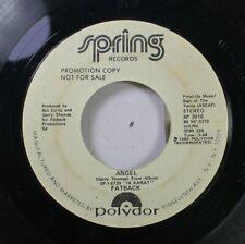 Soul Promo 45 Fatback - Angel / Angel On Polydor