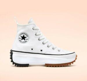 New Converse Run Star Hike Hi Shoes Sneakers (166799C) - White