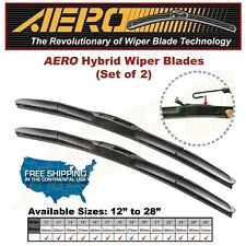 "AERO Hybrid 26"" + 19"" OEM Quality Windshield Wiper Blades (Set of 2)"