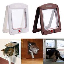 More details for kitten puppy flap door 4-way locking small pet cat dog magnetic security door
