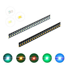 100pcs 5colors 0603(1008) SMD SMT LED Diodes White Red Blue Mix Kit Lamp Lights