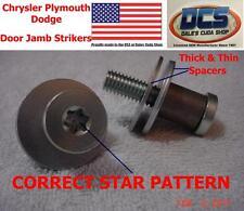 70 71 72 73 74 75 76 Chrysler Plymouth Dodge 2 Door C Body Door Jamb Striker