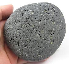 HUGE Lava Basalt Kali Goddess Perdoit Citrine Pleiadian Light Stone Crystal 4