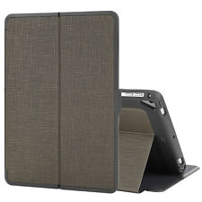 """Folio Leather Case Shockproof Smart Cover for iPad Air 1 2/2017 9.7"""" Khaki Gray"""