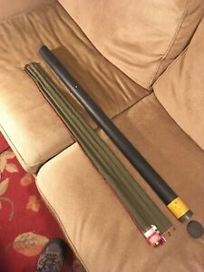 Fly Fishing Rod Vintage Bamboo South Bend #24 9' New With Case Very Super Nice!