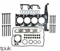 BRAND NEW FORD TRANSIT HEAD GASKET SET + HEAD BOLTS 2.4 ENGINE MK6 2000 - 2006