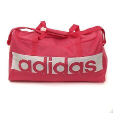 Womens Adidas Linear Performance Duffel Pink Bag (CMF1) RRP £24.99
