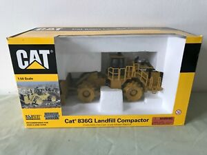 Norscot 1:50th Scale Cat 836G Landfill Compactor Cat 55074