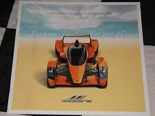 2007 Caparo T1 FULL SALES BROCHURE PROSPEKT inglese GORDON MURRAY F1 TOP GEAR