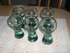 6 Schoppengläser/Weingläser grünglas