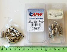 Lot x2 paquets Sleeve pêche AFW J09N-A American Fishing Wire leader Sleeve